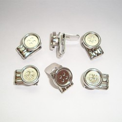Lots de boutons clips pour bretelles à boutons