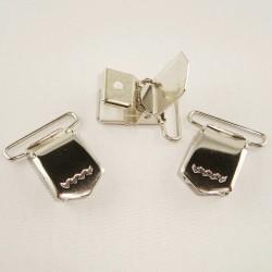 3 Clips pour bretelles 30mm