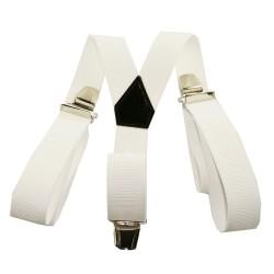 Bretelle unie blanche