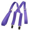 Bretelle fine violet pureté